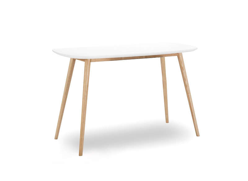 TABLE BLANC/CHENE CLAIR Blanc ABY