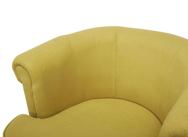 FAUTEUIL CABRIOLET Jaune GRENA