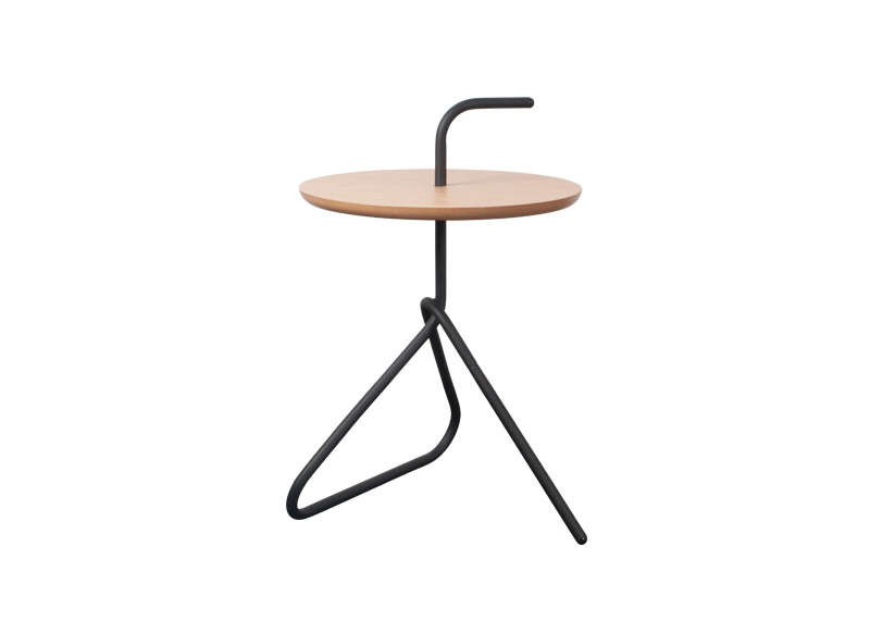 Table basse d'appoint Noir HANDA