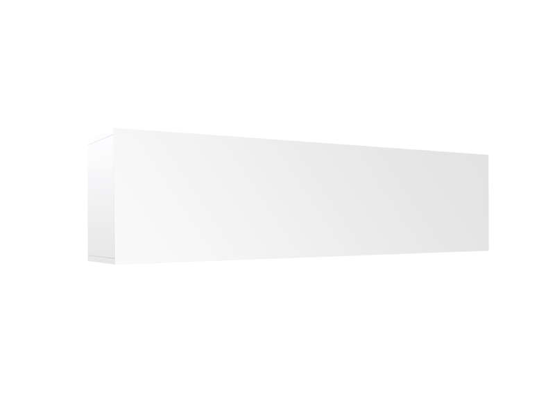 Meuble tv mural Blanc Horizontal down L