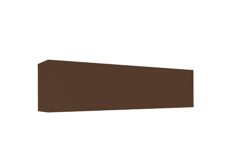 Meuble tv mural Marron Horizontal down L
