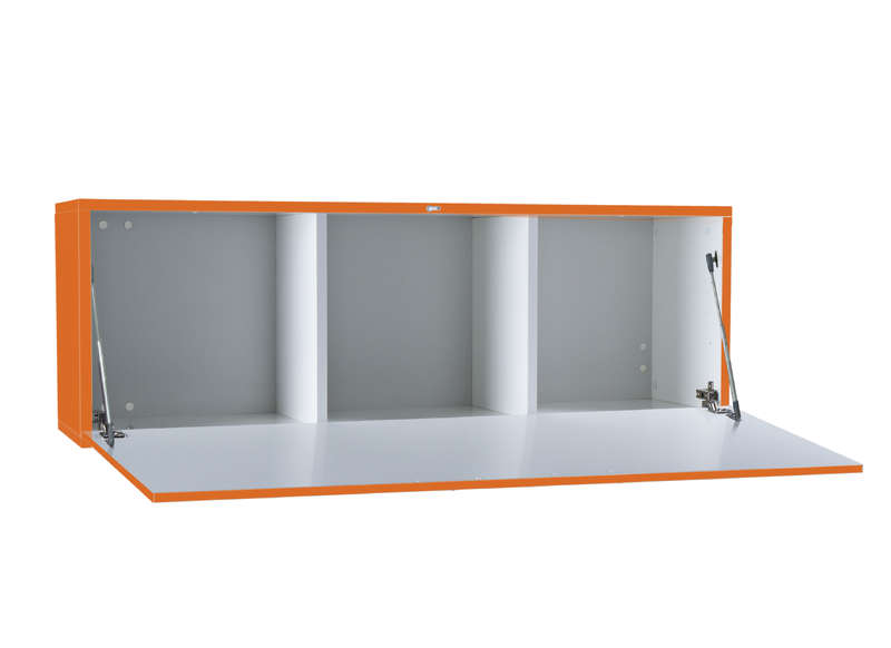 Meuble tv mural Orange Horizontal down M