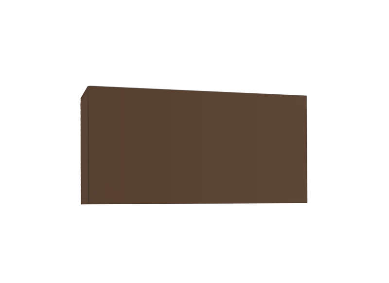 Meuble tv mural Marron Horizontal down S