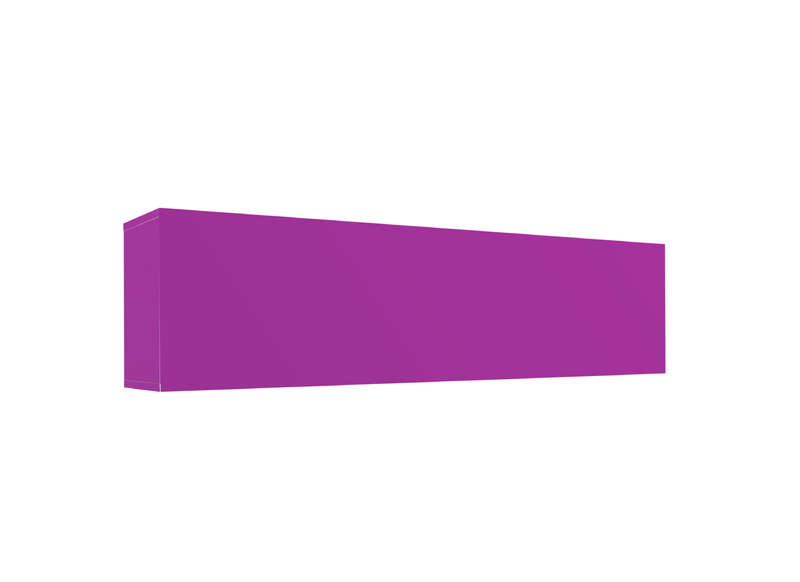 Meuble tv mural Violet Horizontal up L