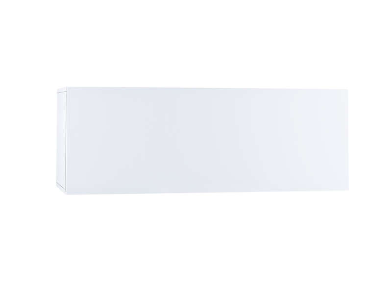 Meuble tv mural Blanc Horizontal up M