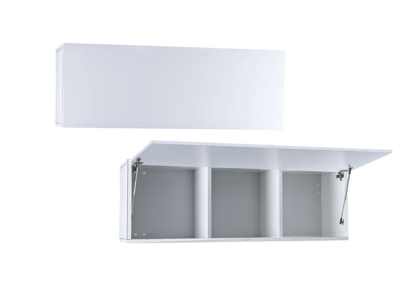 Meuble suspendu mural laqu achatdesign for Meuble tv suspendu blanc