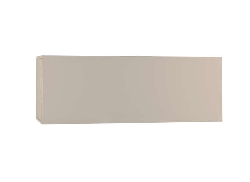 Meuble tv mural Taupe Horizontal down M