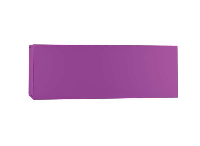 Meuble tv mural Violet Horizontal down M
