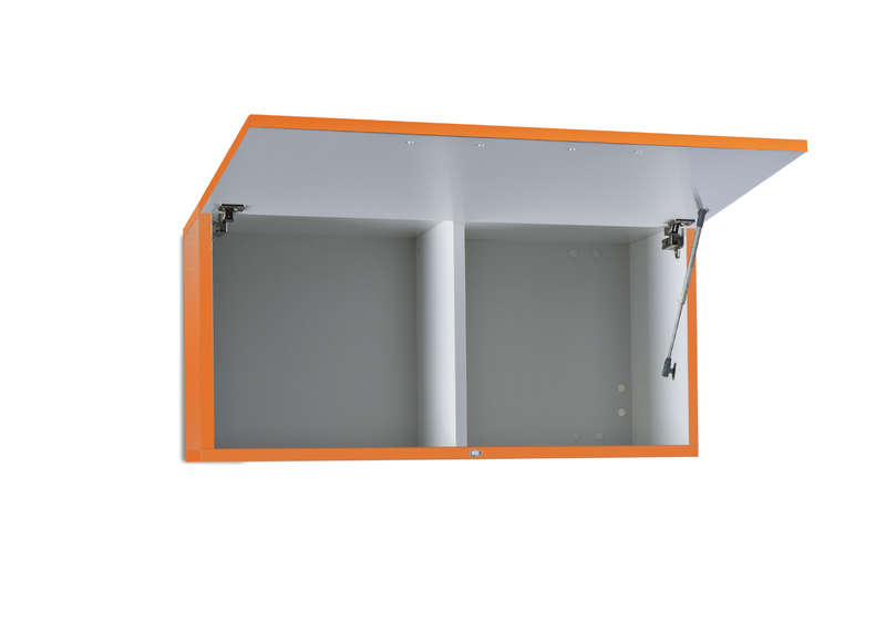 Meuble Tv Mural Orange Horizontal Up S