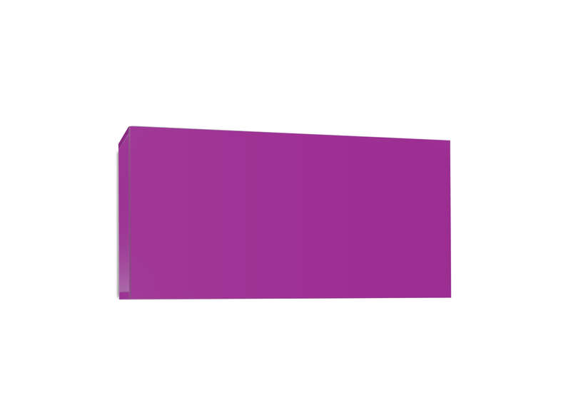 Meuble tv mural design Violet Horizontal up S