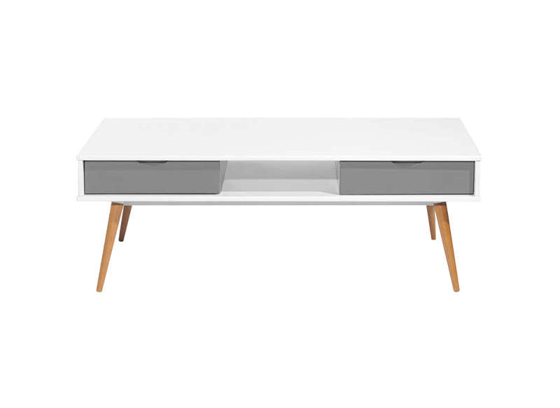 Table basse laqu e achatdesign for Table basse scandinave blanche