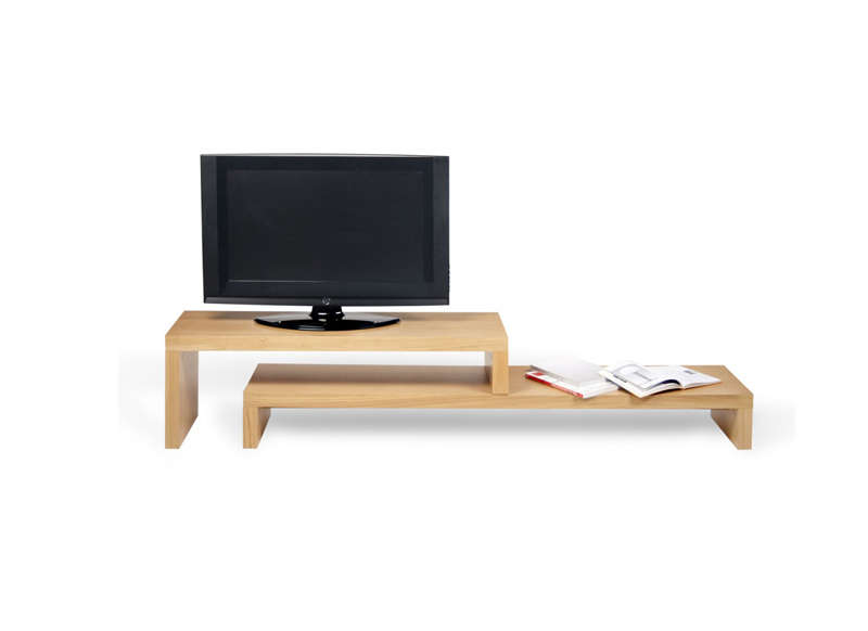 Meuble Tv Design Chene 185 Cm Skien