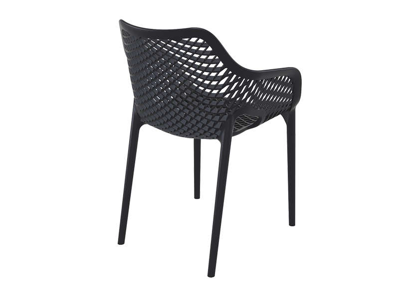 chaise de jardin design noir air xl - Chaise De Jardin