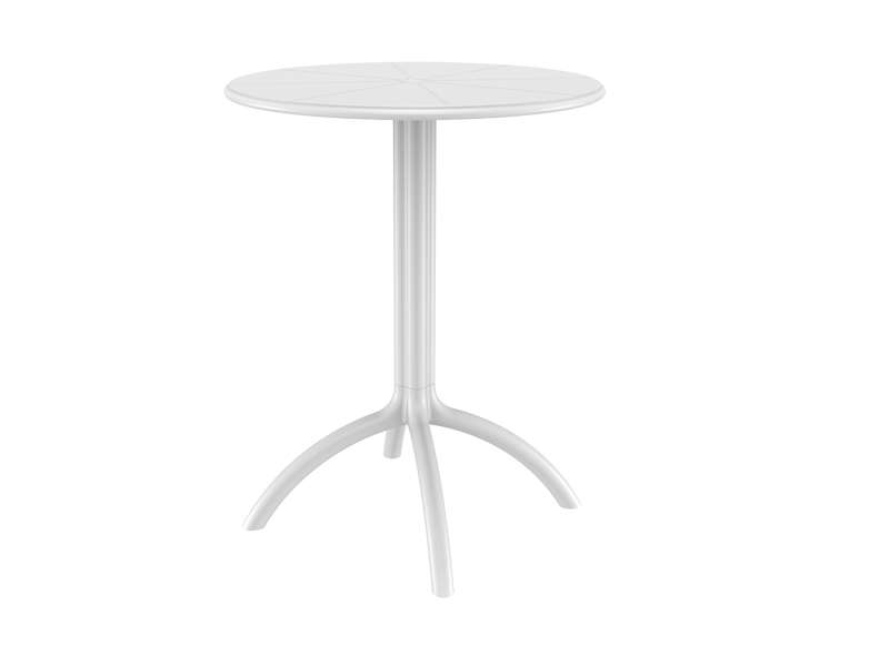 TABLE DE JARDIN design Blanc OCTOPUS 60