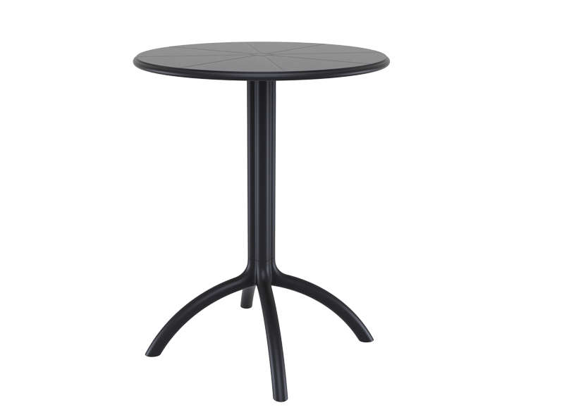 TABLE DE JARDIN design Noir OCTOPUS 60