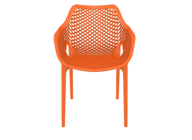 Chaise De Jardin Design Orange AIR XL