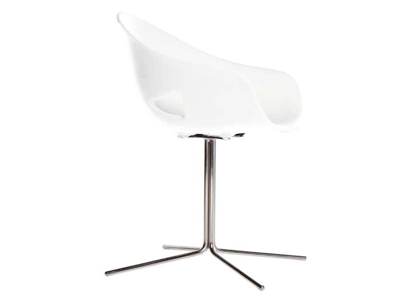 Chaise ronde pied central achatdesign - Chaise avec pied central ...