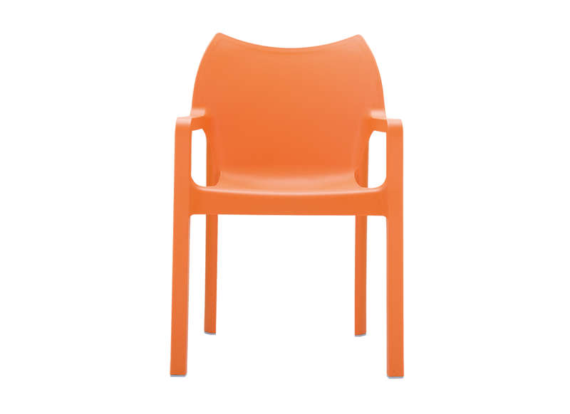 Chaise De Jardin Design Orange POP