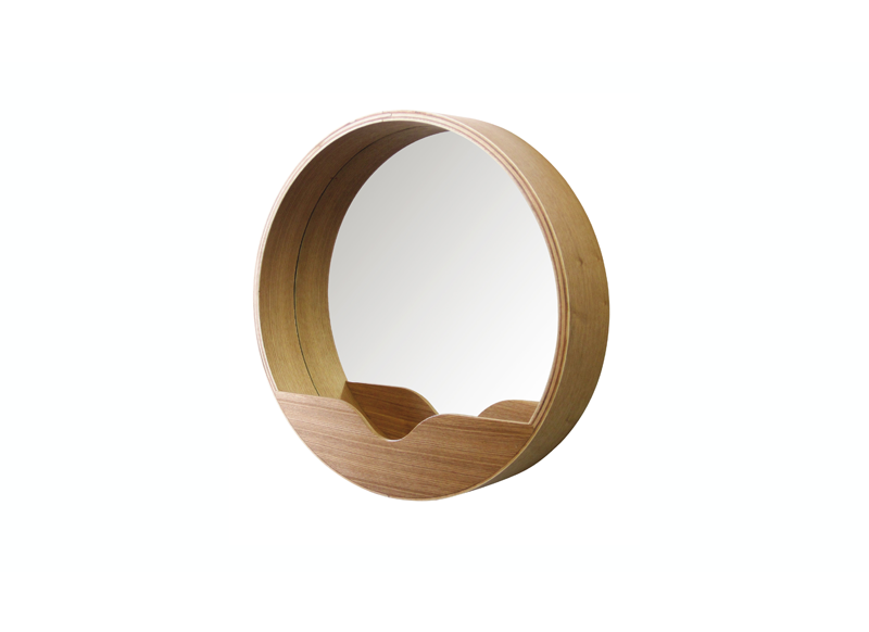 Miroir rond en bois achatdesign for Miroir miroir full movie
