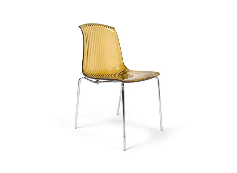 Chaise en polycarbonate transparent achatdesign - Chaises en polycarbonate ...