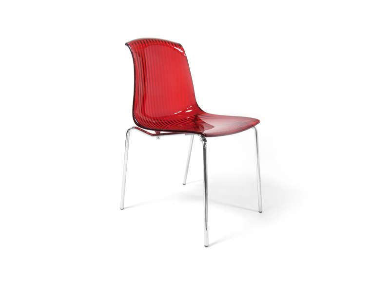 Chaise en polycarbonate transparent achatdesign - Chaise en polycarbonate ...