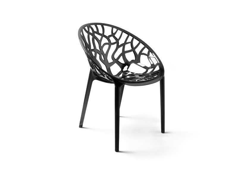 Chaise design en plastique achatdesign - Chaise plastique design ...