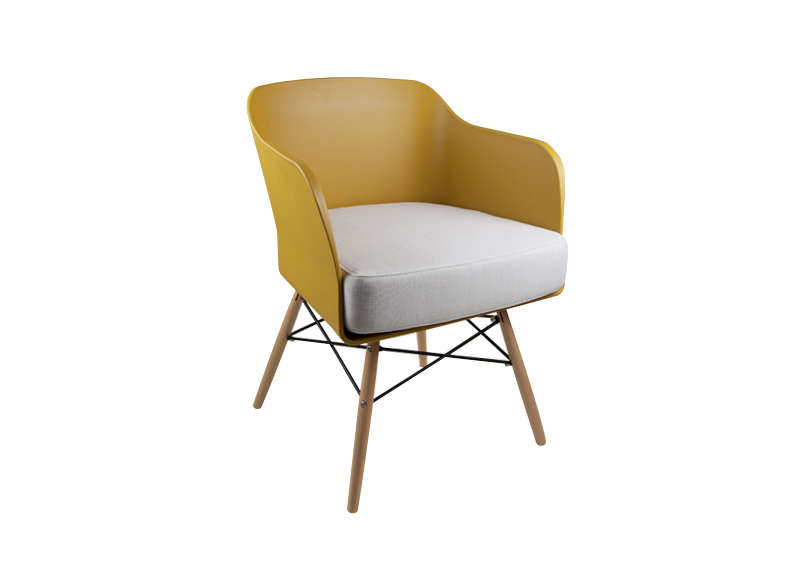 Design : Chaise De Cuisine Jaune [Mulhouse 3232], Mulhouse Paris ...