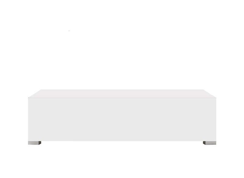 Banc tv laqué design  AchatDesign -> Banc De Table Blanc