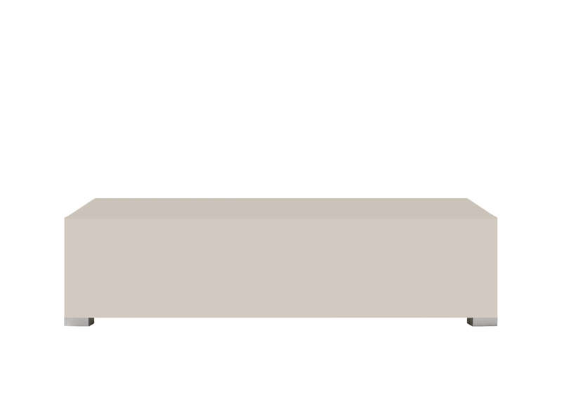 Banc meuble tv standard s blanc for Meuble tv 120 cm blanc