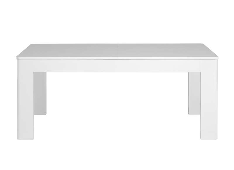 Table de salle manger laqu e bercy - Table laquee extensible ...