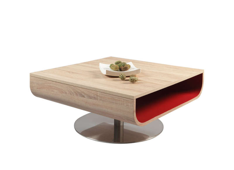 Table basse design en bois for Tables basses de salon design