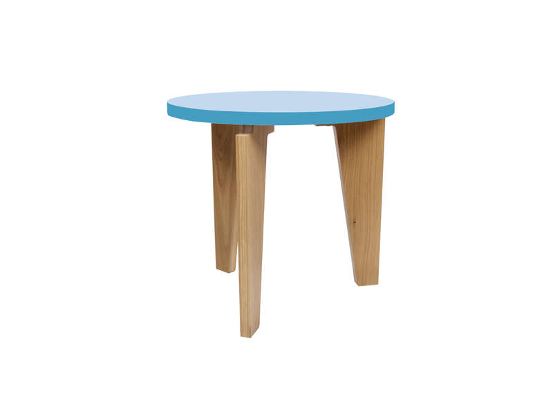 Beautiful table basse d appoint ideas awesome interior - Petite table ronde pliante ...