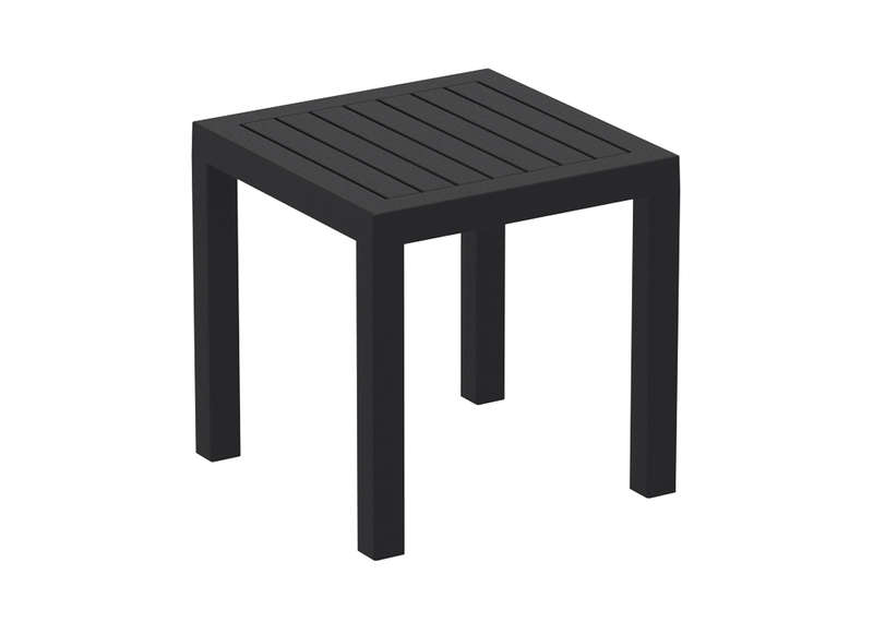 Table basse jardin carr e en r sine pacific achatdesign - Table basse salon de jardin ...
