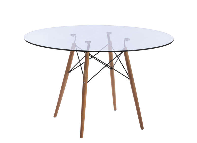 table ronde en verre siri :: achatdesign