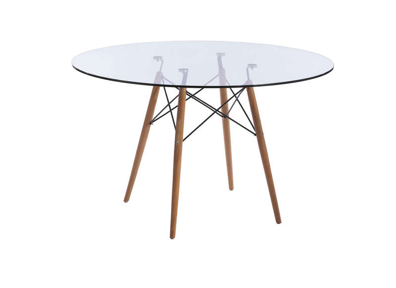 Table ronde en verre siri achatdesign for Table a manger ronde en verre