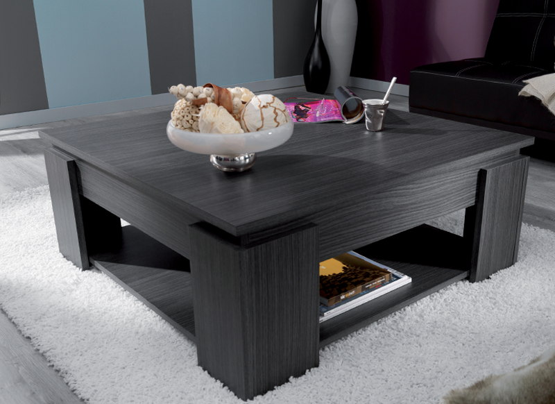 Table basse reno carree wenge - Table basse carree wenge ...