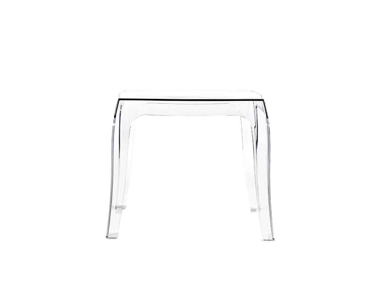Table Basse Carr E En Polycarbonate Queen Achatdesign