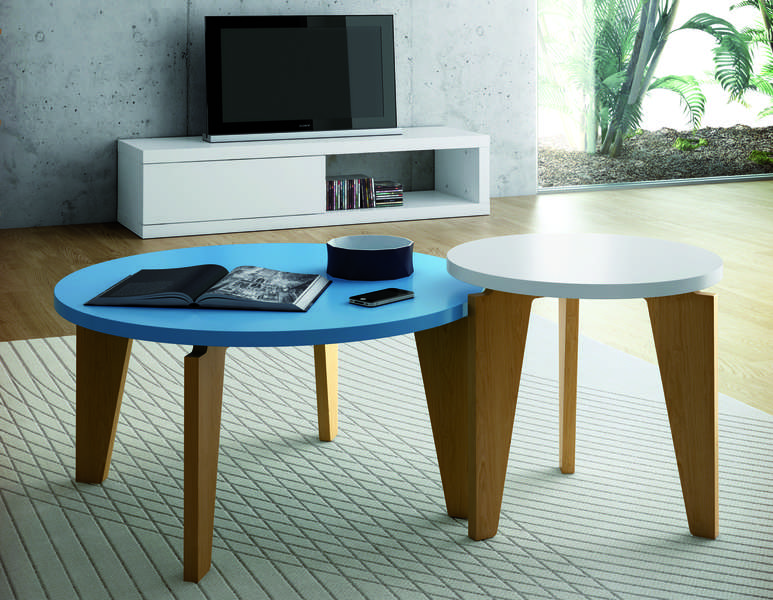 Table basse ronde d 39 appoint ytamo achatdesign for Table basse d appoint