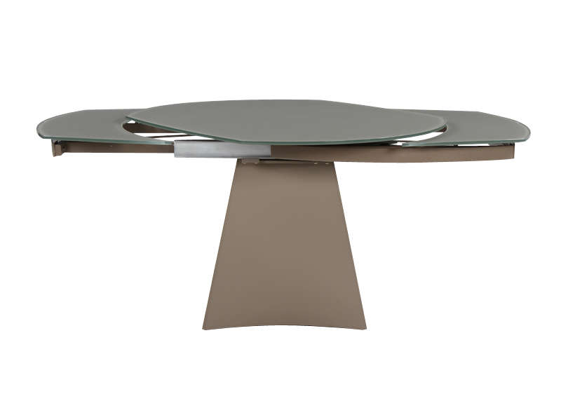 Table design achatdesign - Table ovale avec rallonges ...