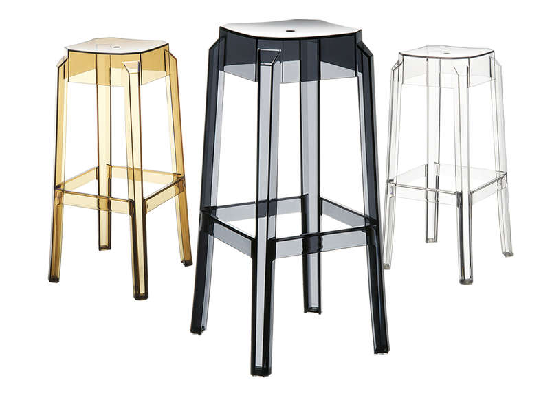 Tabouret de bar design achatdesign - Tabouret de bar polycarbonate ...