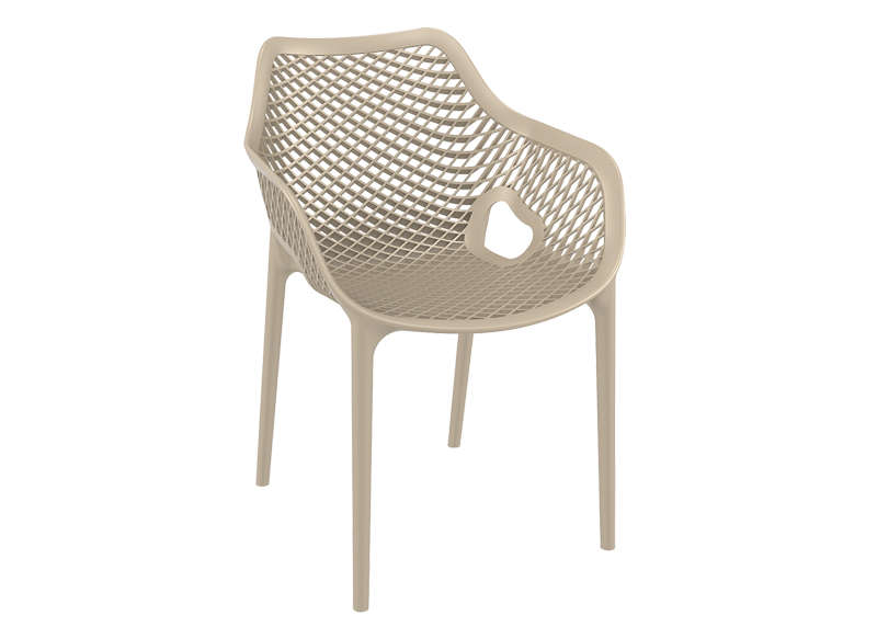 Chaise De Jardin Design Taupe AIR XL