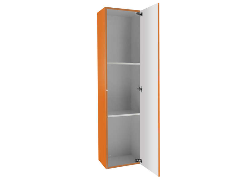 Meuble tv mural Orange Vertical L