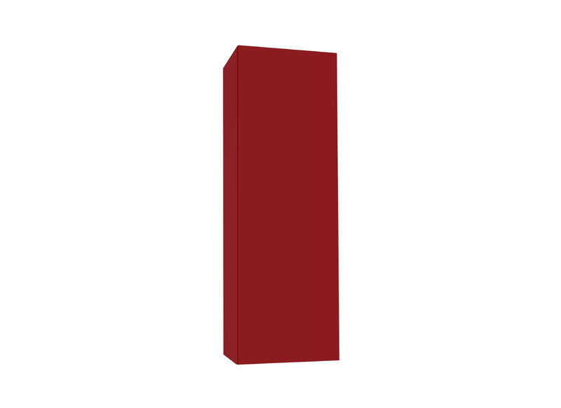 Meuble tv mural Rouge Vertical M