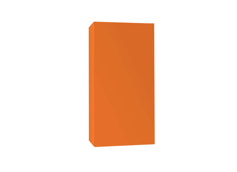 Meuble tv design Orange Vertical S