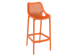 TABOURET POLYPROPYLENE Orange AIR XL