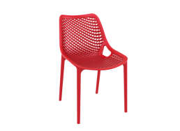 Chaise de jardin design Rouge AIR