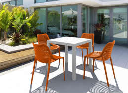Ensemble de jardin Orange ARES
