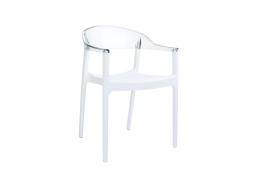 CHAISE POLYCARBONATE Transparent CARMEN