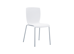 CHAISE CONTEMPORAINE Blanc MIO