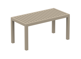 TABLE BASSE EN POLYPROPYLENE Taupe PACIFIC